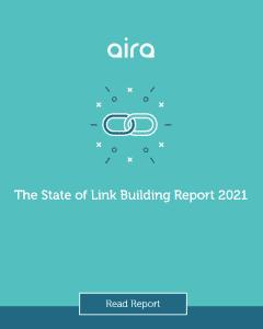 Photo du rapport sur le link building de l'agence marketing digitale AIRA