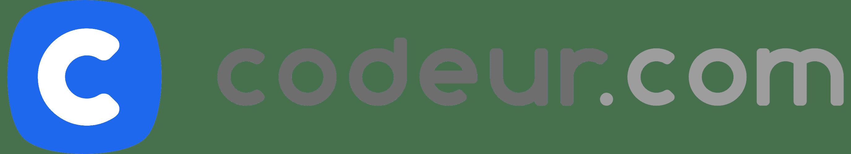 logo de la plateforme freelance codeur.com